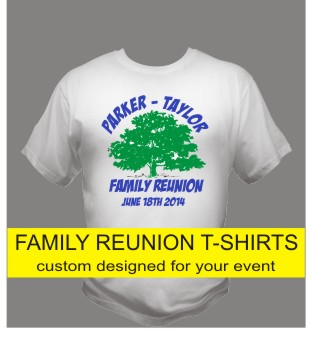 Custom Printed Family Reunion T Shirts In St Louis