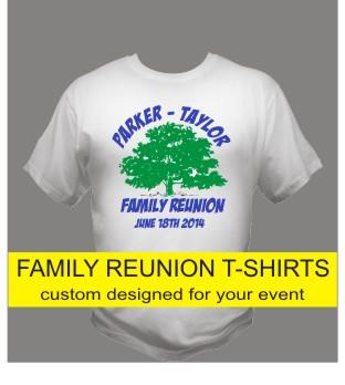 Custom family reunion t shirts kirkwood trading company for Custom t shirts for family reunion