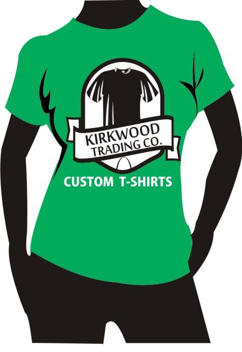 Custom t shirt screen printing kirkwood trading company for Custom t shirt company