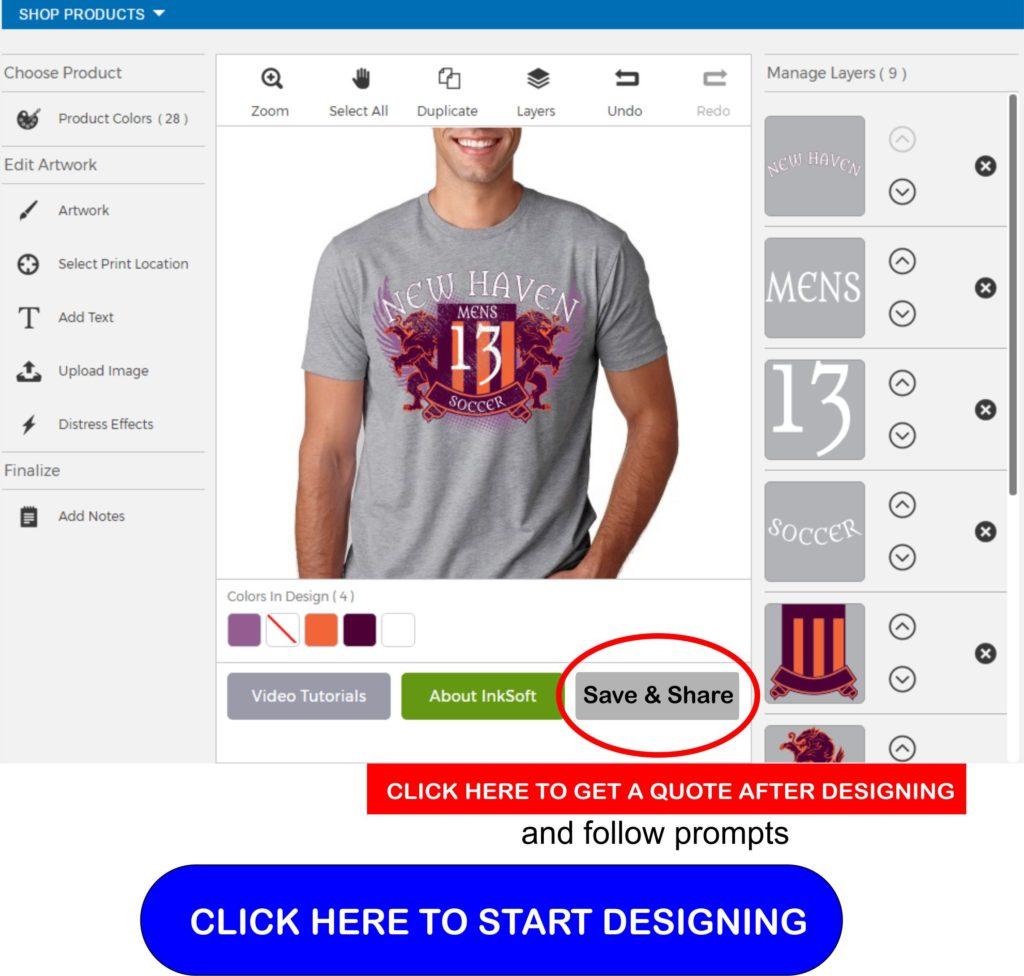 kirkwood trading company online tshirt designer