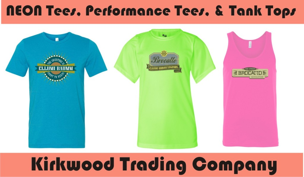custom Neon T-shirts and Tanks