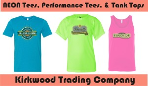 custom Neon T-shirts and Tanks