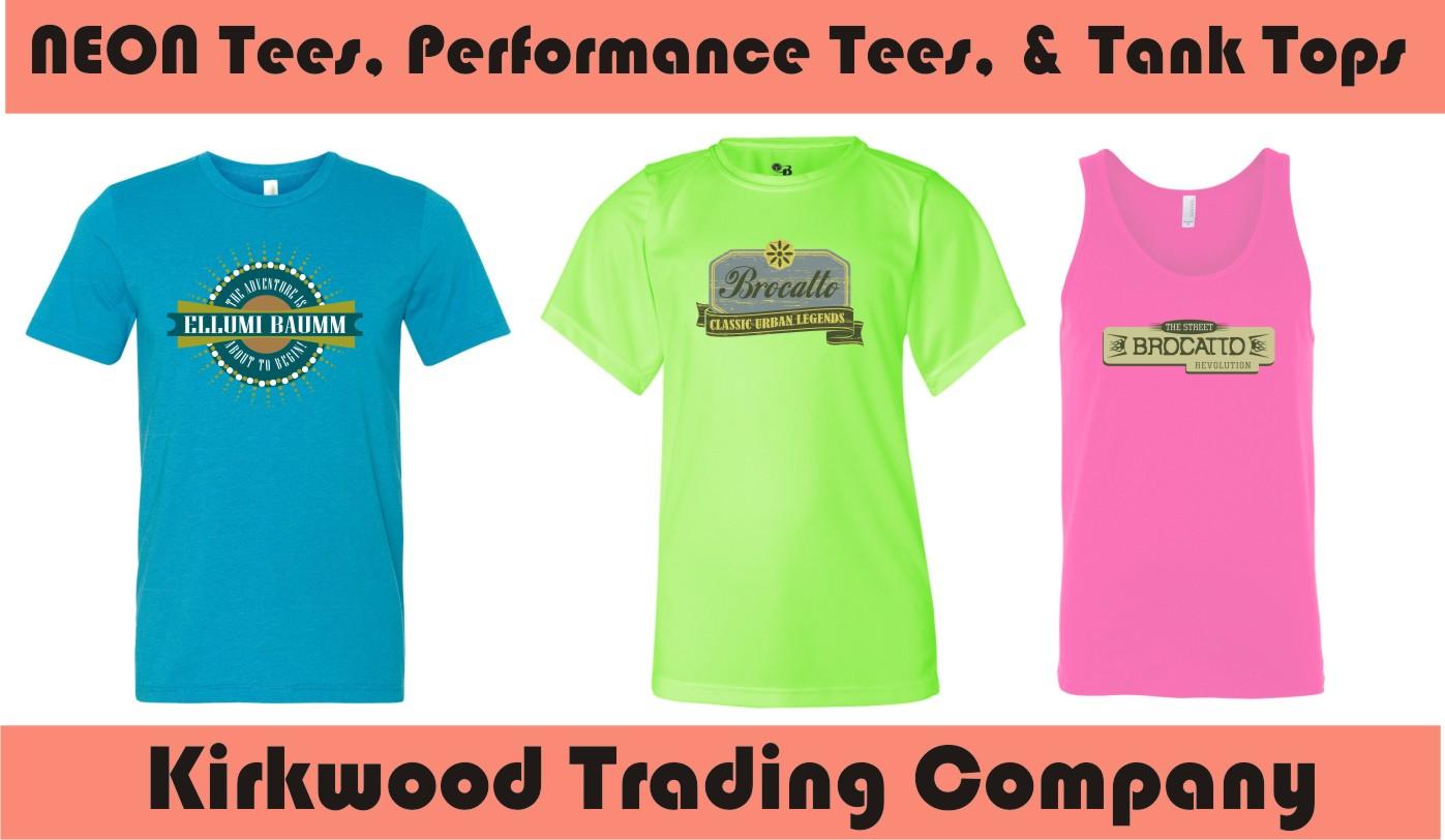 03d2fa010cc85 Custom Neon T-shirts - Kirkwood Trading Company