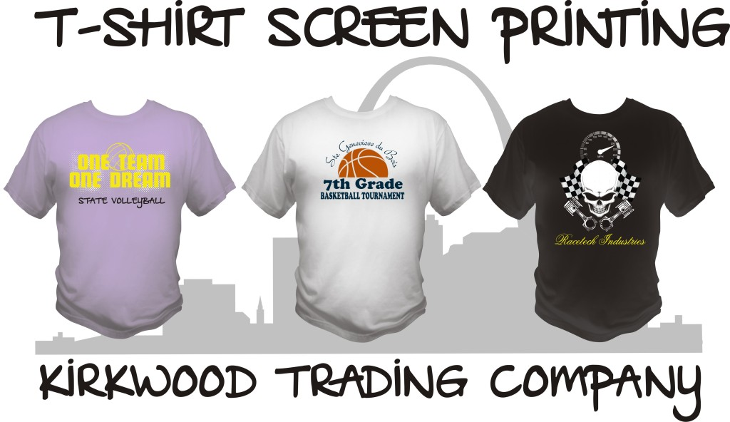 T-shirt Screen Printing in St. Louis