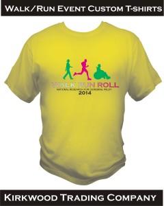 Walk Run Event Custom T-shirts