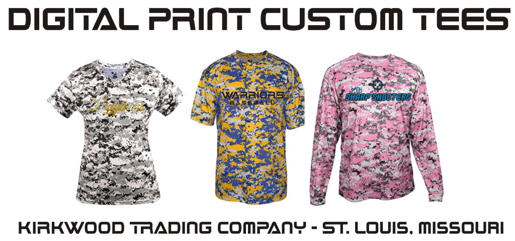 Digital Print Custom Tees