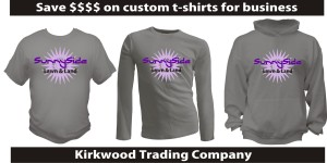 how to save money on custom t-shirts