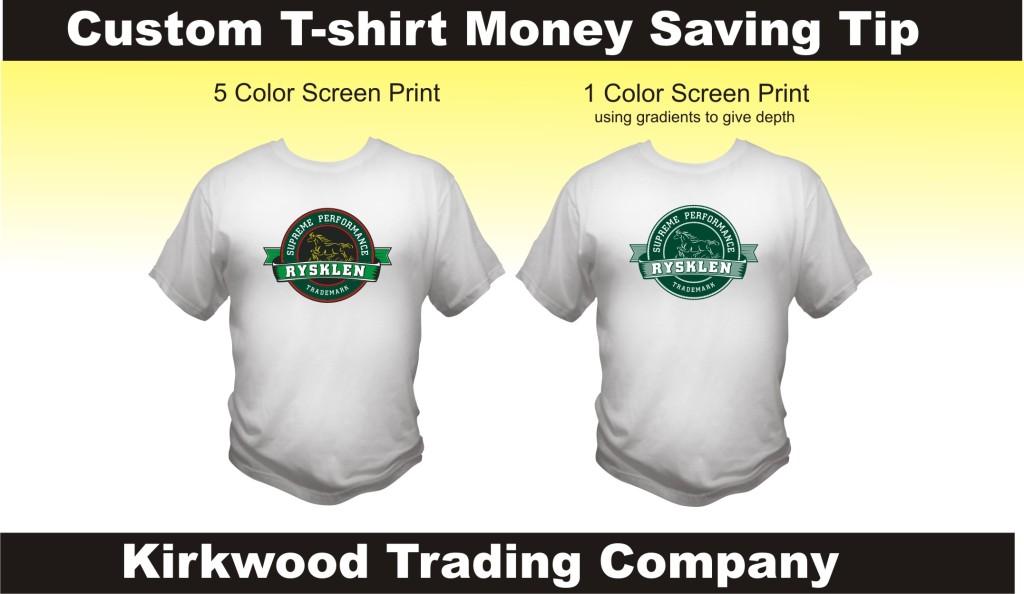 custom t-shirt money saving tips