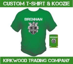 St. Patricks Day Custom t-shirts and koozies