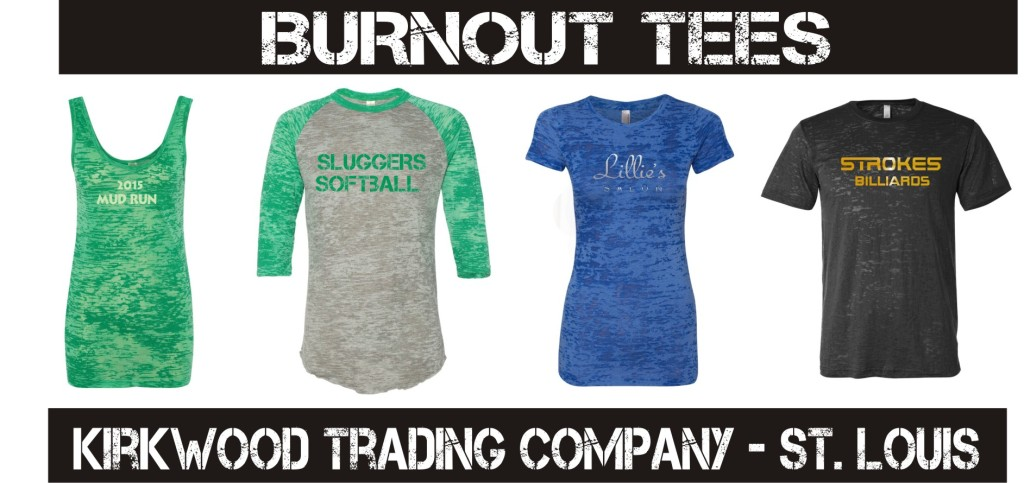 custom printed burnout t-shirts