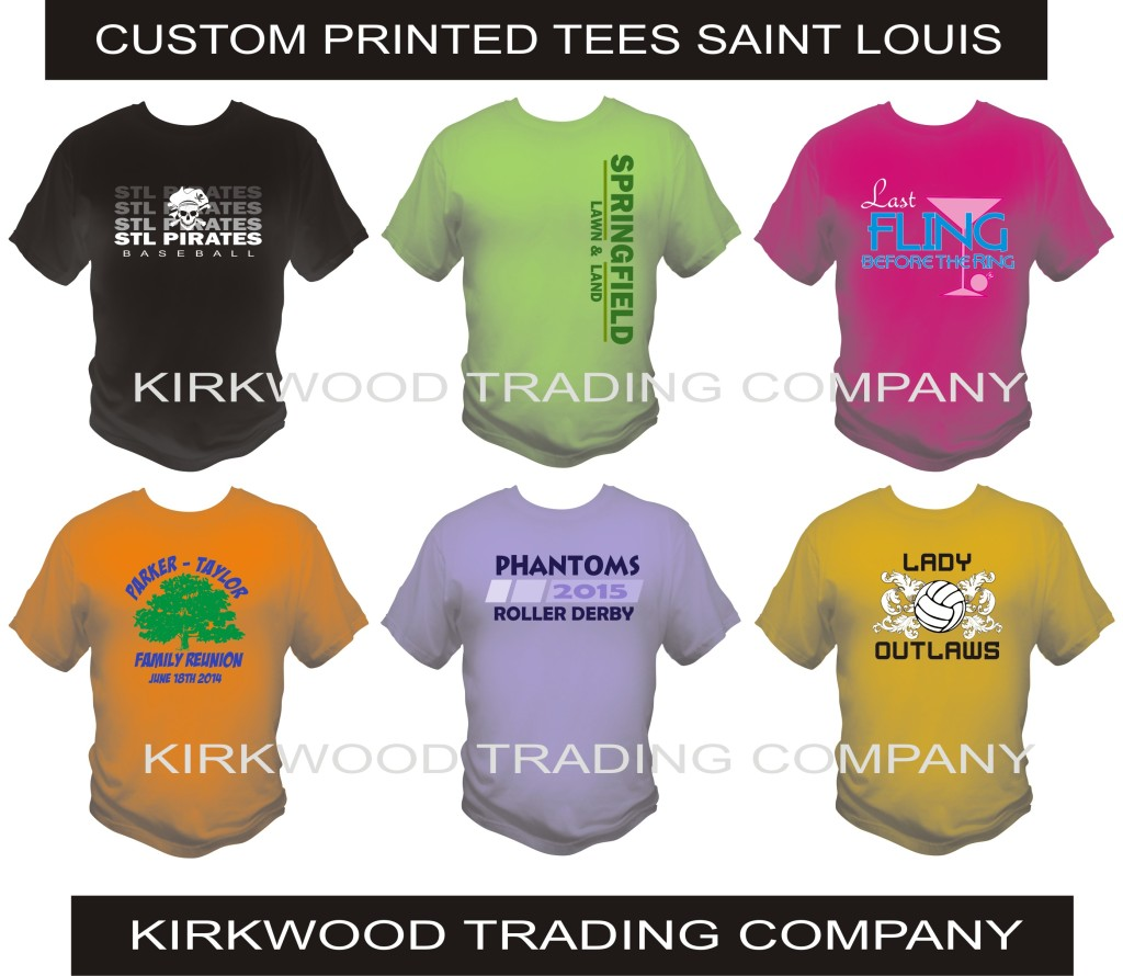 custom printed tees in Saint Louis