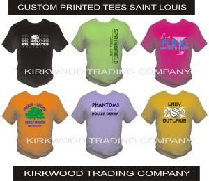 custom printed tees in Saint Louis