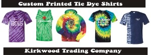 custom printed tie dye shirts