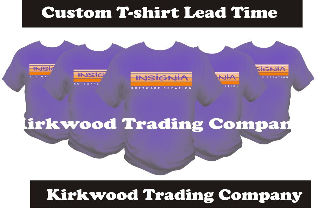 custom t-shirt lead time