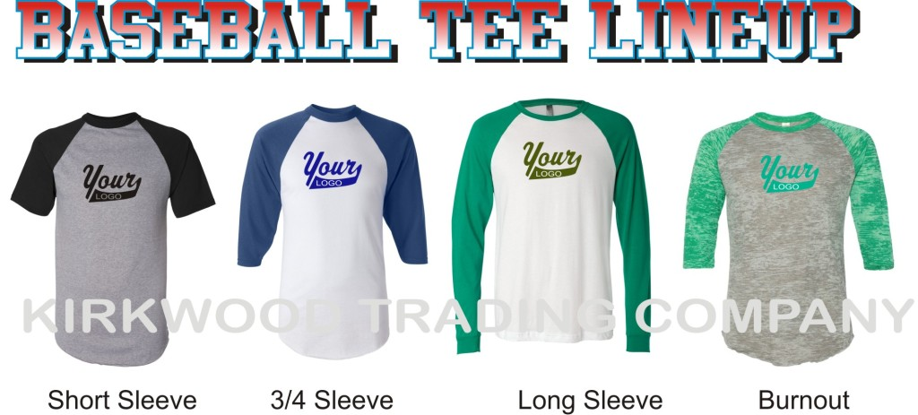 custom baseball tees