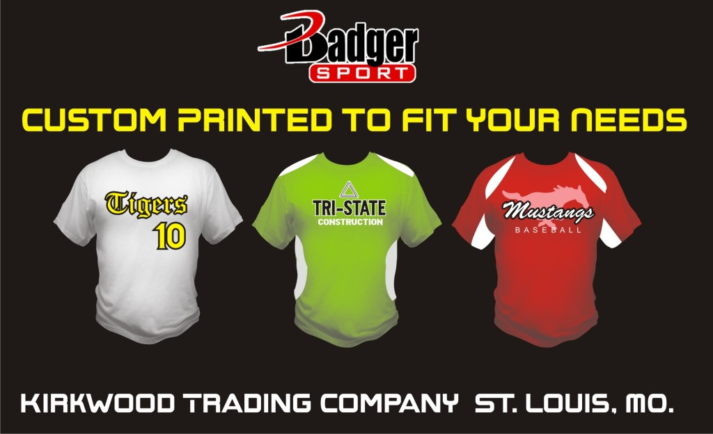 custom badger Sports Shirts
