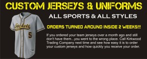 Custom jerseys and athletic uniforms in Saint Louis