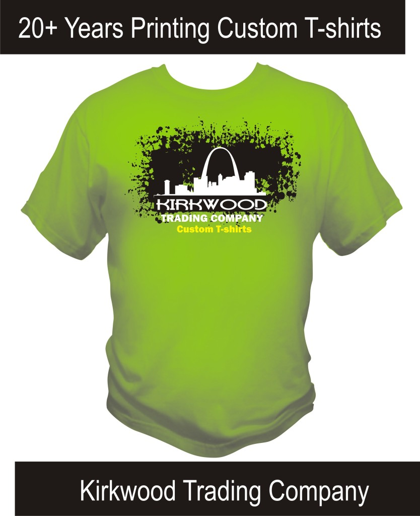 Custom t shirt screen printing st louis archives for Custom t shirt printing online