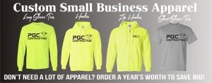 Custom printed small business t-shirts
