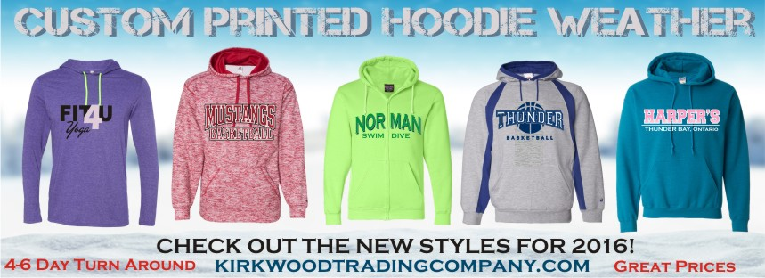 Kirkwood Trading Company custom hoodies