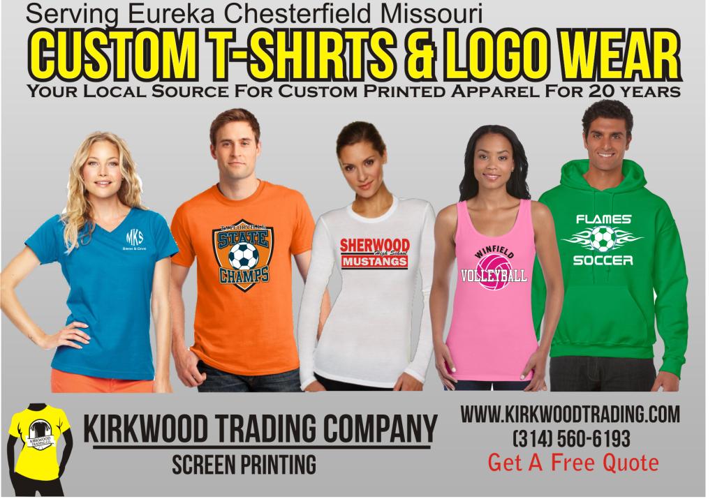Kirkwood Trading Company custom tees