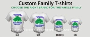 kirkwood trading company custom family tees