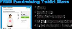 Kirkwood Trading Company t-shirt fundraising