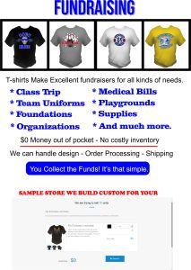 Kirkwood Trading Company custom t-shirt fundraising store
