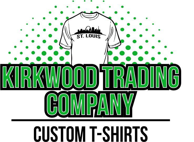 Kirkwood trading company custom t shirt logo web for Custom t shirt company
