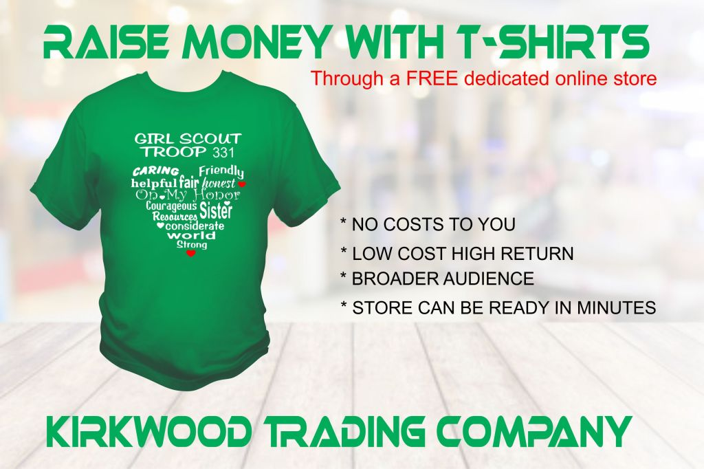 raise money with custom t-shirts