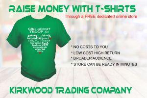 raise money with custom t-shirts