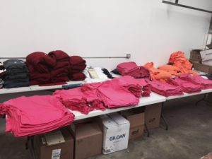 screen printing shirts
