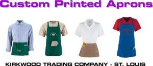 custom printed aprons