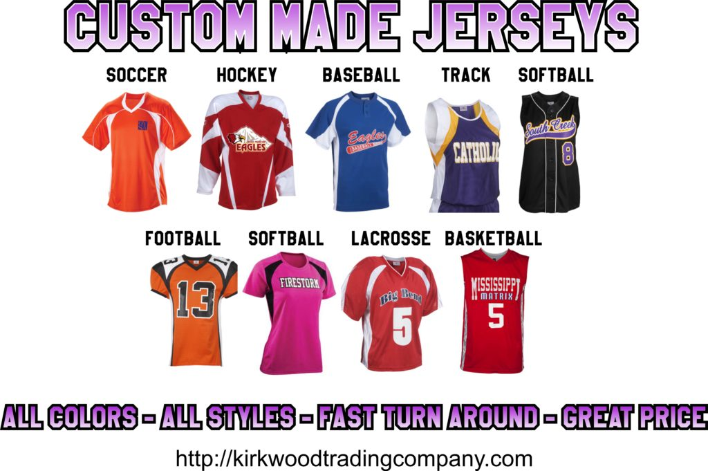 custom made jerseys