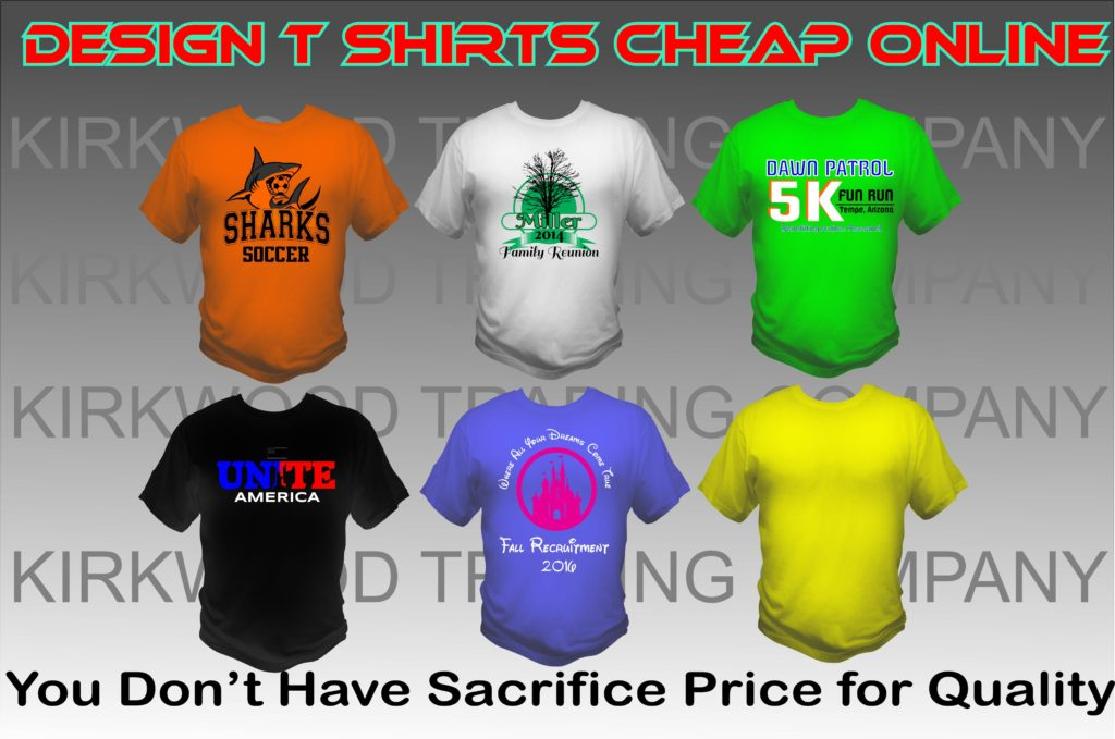 design t shirts cheap