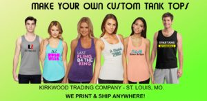 custom printed tank tops
