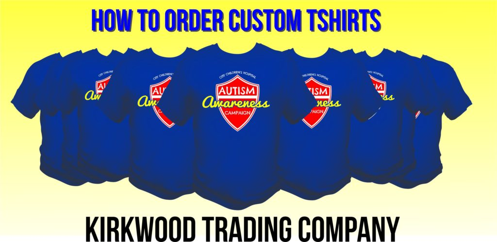 how to order custom tshirts