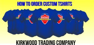 how to order custom tshirts