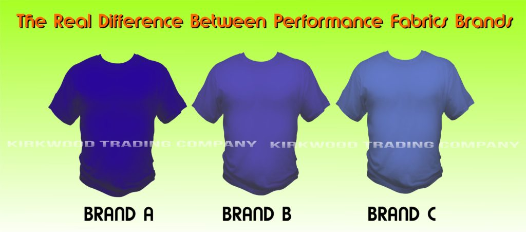 performance tshirt brand comparison