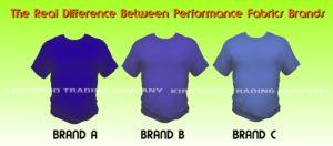 performance tshirt brand comparison