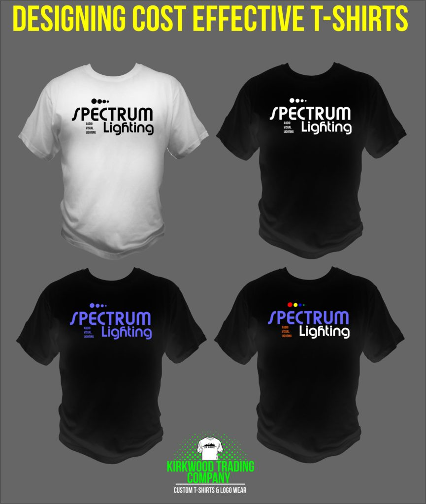 Designing Cost effective custom t-shirts
