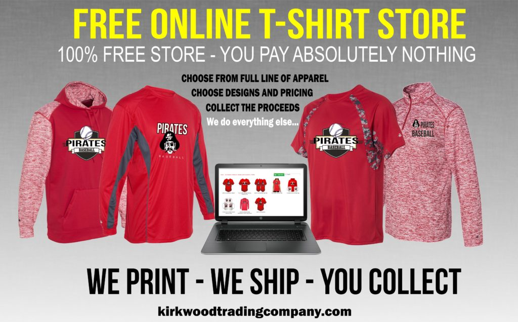 Free Online T-shirt Store