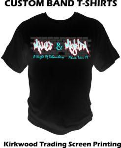 custom band t-shirts