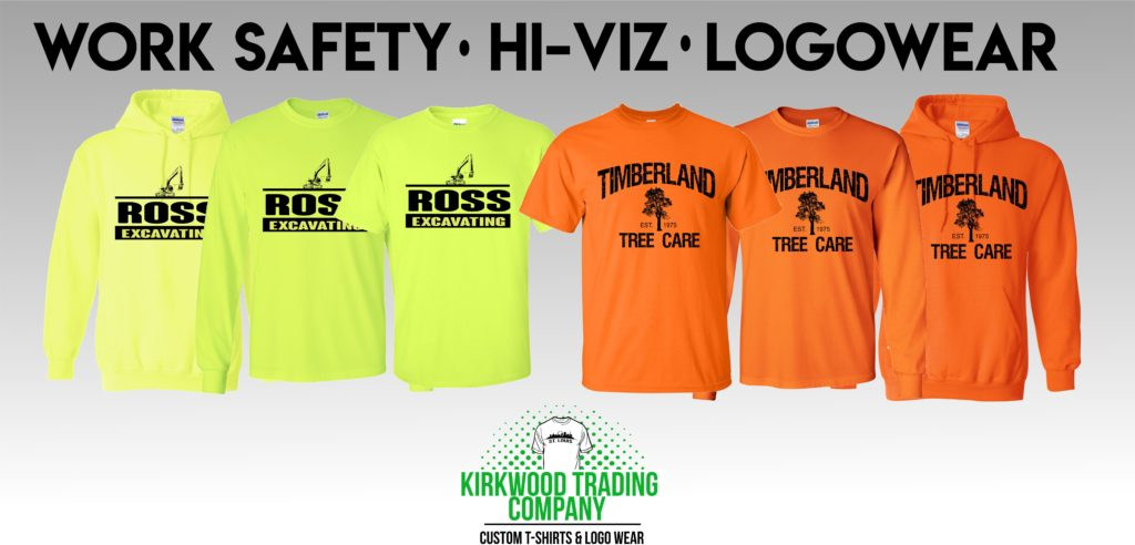 custom work safety t-shirts