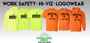 custom work safety t-shirts