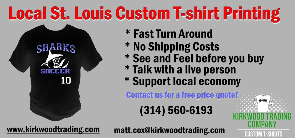 local St. Louis custom t-shirt printing