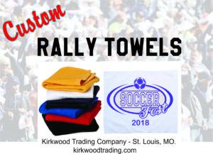 custom rally towels in St louis