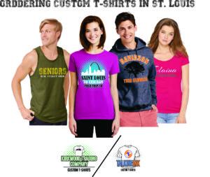 ordering custom t-shirts in Saint Louis