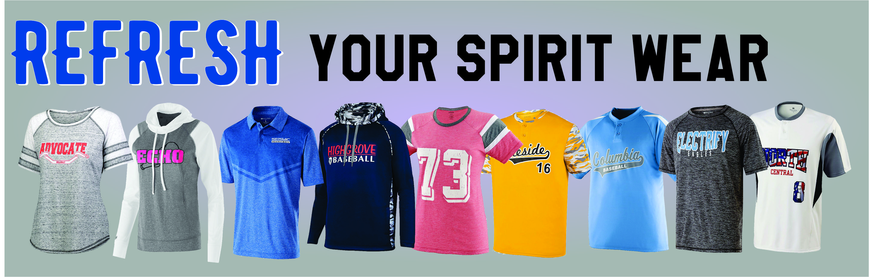 Refresh your spirit wear