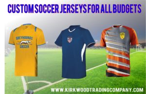 Custom youth soccer jerseys